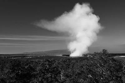 Photograph - Kilauea Vents by Scott Rackers