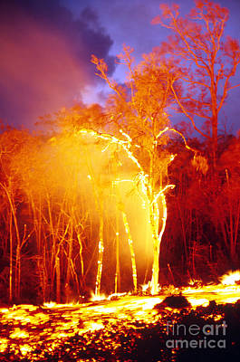 Photograph - Kilauea Volcano Erupting by Stephen and Donna O'Meara