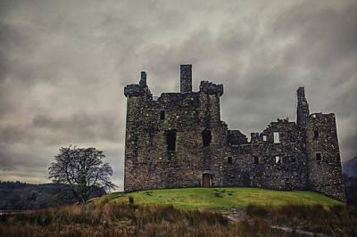 Photograph - Kilchurn Castle by Jean-Noel Nicolas