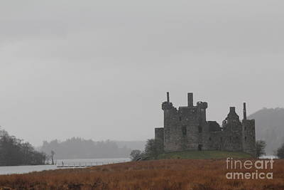 Photograph - Kilchurn Castle Ruin by David Grant
