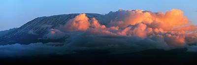Kilimanjaro At Sunset Art Print by Babak Tafreshi