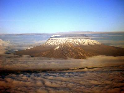Kilimanjaro Print by Tuntufye Abel