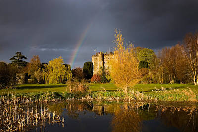 Castle Photograph - Kilkea Castle Hotel, Built 1180 By Hugh by Panoramic Images