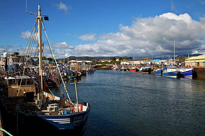 Fishing Harbour Photograph - Kilkeel On The County Down Coast by Panoramic Images
