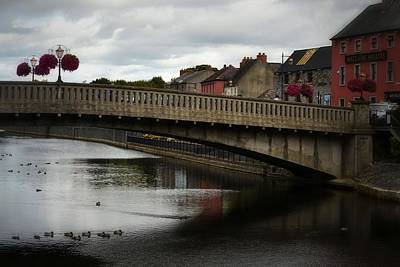 Photograph - Kilkenny And The River Nore by Nadalyn Larsen