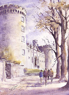 Kilkenny Castle Parade County Kilkenny Ireland Art Print