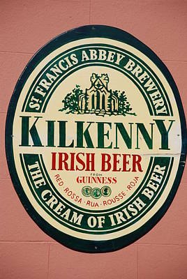 Photograph - Kilkenny Irish Beer by Charlie and Norma Brock
