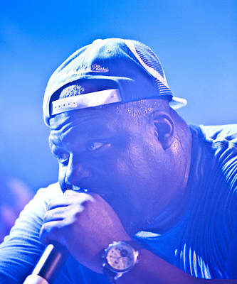 Photograph - Killah Priest by Christopher Prosser