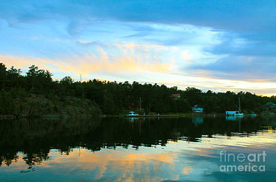 Photograph - Killarney Channel Sunset by Nina Silver