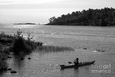 Photograph - Killarney Evening Kayak by Nina Silver