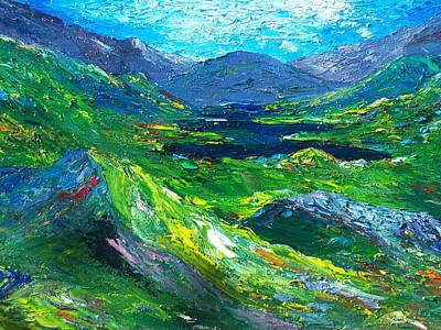 Killarney The Kingdom Of Kerry Art Print
