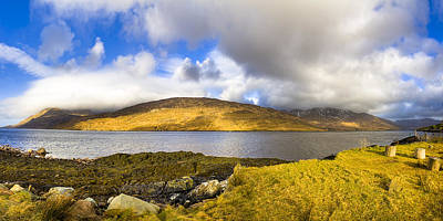 Rural Scenes Photograph - Killary Harbour On The Irish West Coast by Mark E Tisdale