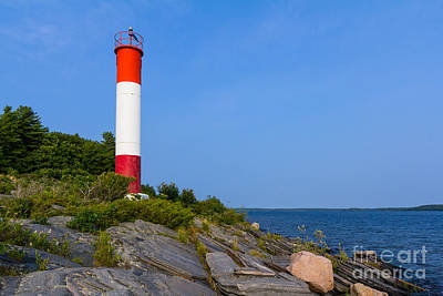 Photograph - Killbear Lighthouse  by Les Palenik