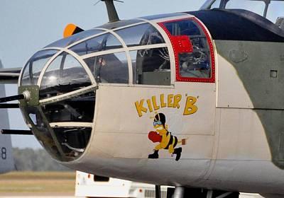 Killer B Photograph - Killer Bee by John Black