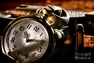 Gunslinger Photograph - Killer Time  by Olivier Le Queinec