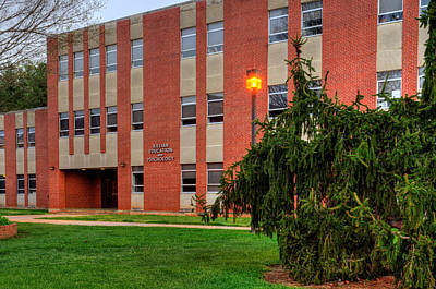 Cullowhee Photograph - Killian Education And Psychology Building by Greg Mimbs