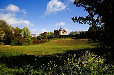 Farmscapes Photograph - Killyleagh Castle, Co Down, Ireland by Panoramic Images
