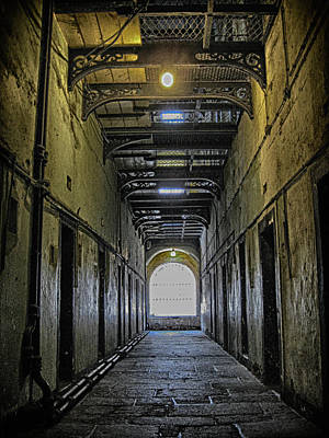 Photograph - Kilmainham Gaol Cellblock by Robert Woodward