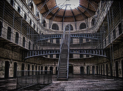 Photograph - Kilmainham Gaol Interior by Robert Woodward