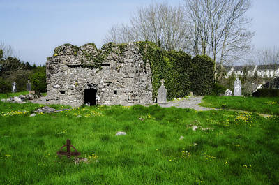 Ballina Photograph - Kilmore Church Ruins - Founded By St Patrick - Ballina Co Mayo by Bill Cannon