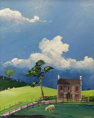 Painting - Kilpoole Cottage by Robert Teeling