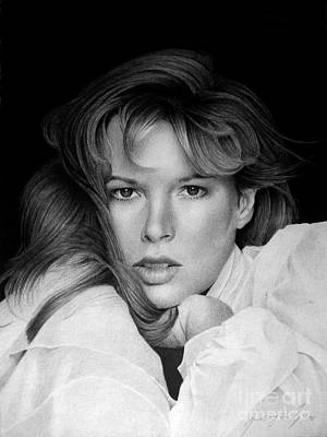 Celebrities Drawing - Kim Basinger by Miro Gradinscak