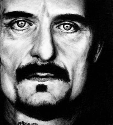 Sons Of Anarchy Drawing - Kim Coates As Tig Trager by Rick Fortson