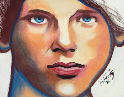 Painting - Kim by Michael Foltz