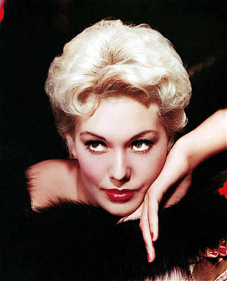 Pittsburgh According To Ron Magnes - Kim Novak in an undated Columbia Studios publicity portrait-2009 by David Lee Guss