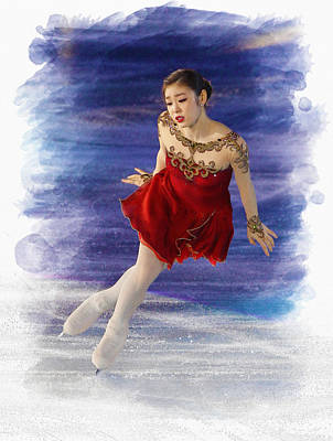 Yuna Kim Performs During Her Farewell Ice Show  Original by Don Kuing