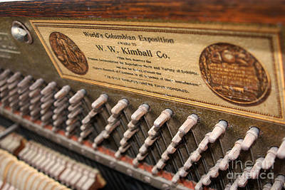 Kimball Piano-3476 Print by Gary Gingrich Galleries