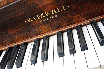 Kimball Piano-3479 Print by Gary Gingrich Galleries