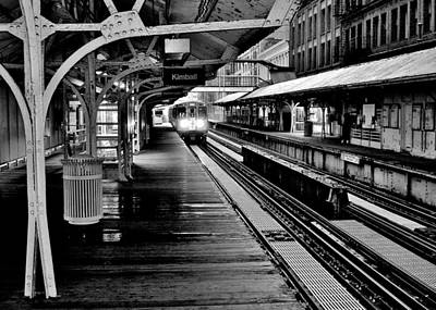 Photograph - Kimball Station by Benjamin Yeager