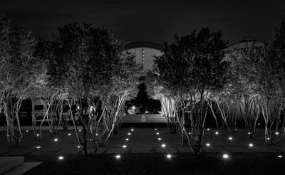 Kimbell Photograph - Kimbell After Dark by Joan Carroll