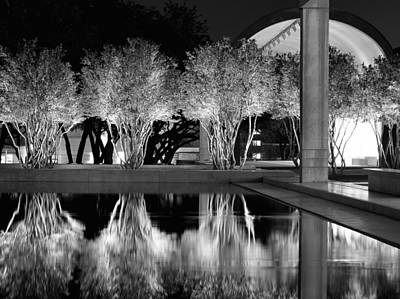 Photograph - Kimbell Art Museum Bw 031115 by Rospotte Photography
