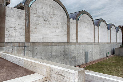 Kimbell Photograph - Kimbell Art Museum Fort Worth 3 by Rospotte Photography