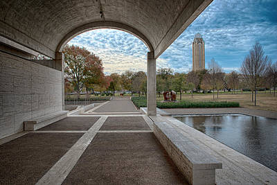 Photograph - Kimbell Art Museum Fort Worth by Rospotte Photography