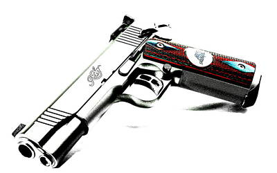 Soldiers Photograph - Kimber Team Match by VRL Art