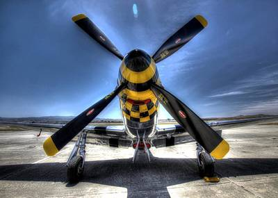 Photograph - Kimberly Kaye P51 Mustang by John King