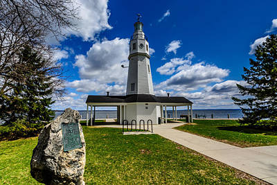 Photograph - Kimberly Point Lighthouse by Randy Scherkenbach