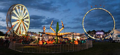Photograph - Kimberton Fair Panorama by Michael Porchik