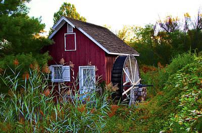 Kimberton Mill Art Print by Bill Cannon