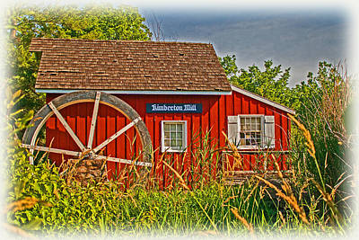 Photograph - Kimberton Mill by Michael Porchik