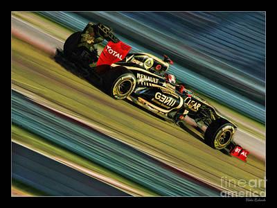 Photograph - Kimi Raikkonen  by Blake Richards