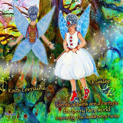 Matanuska Painting - Kimlee And Kate Lorraine by Teresa Ascone