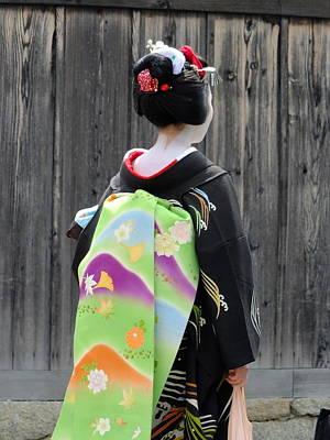 Photograph - Kimono Lifestyle - 3 by Larry Knipfing