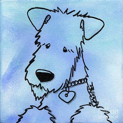 Kimpressions - Terrier Art Print by Kim Niles