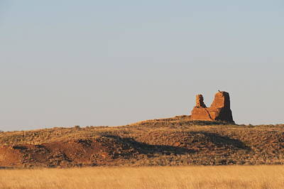 Chaco Culture Nhp Photograph - Kin Klizhin Greets The Dawn by Feva  Fotos