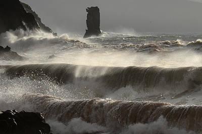 Kinard Photograph - Kinard Waves by Barbara Walsh