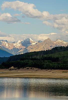 Photograph - Kinbasket Lake Golden B C by Jordan Blackstone